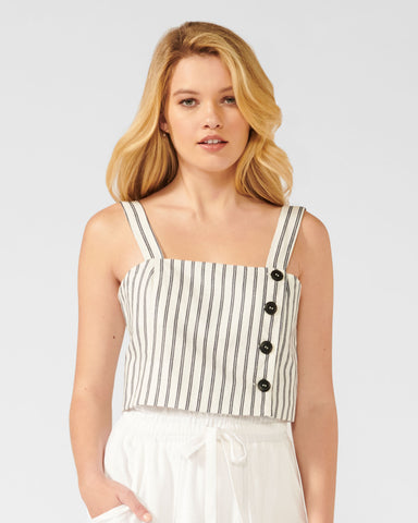 LAGUNA STRIPE TOP