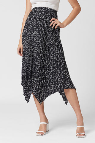 EIGHT MILES PLEATED SKIRT