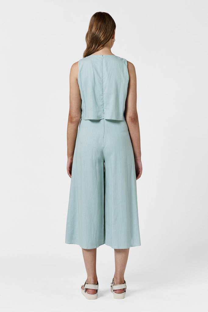 LAZY DAZE CULOTTE JUMPSUIT