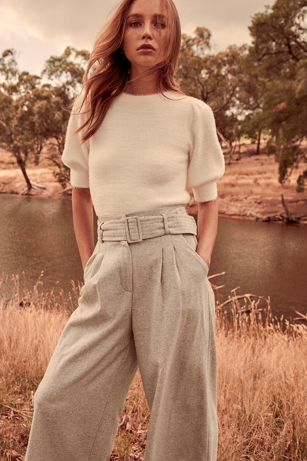 WILLOW BELTED PANTS