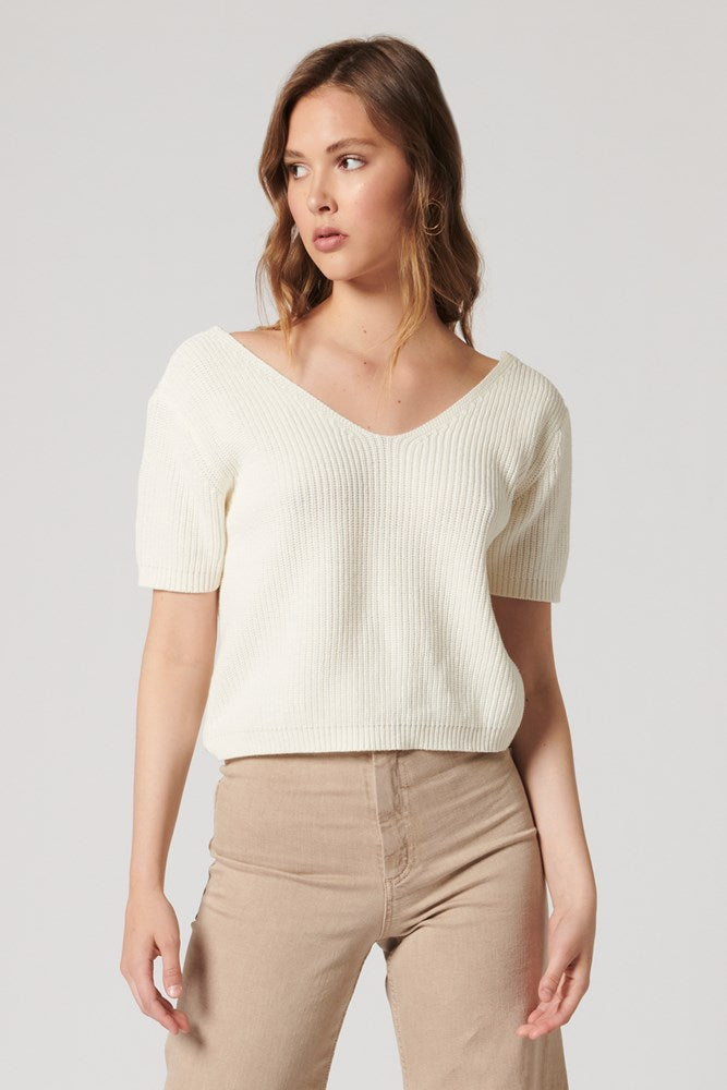 WINDSWEPT KNIT TOP