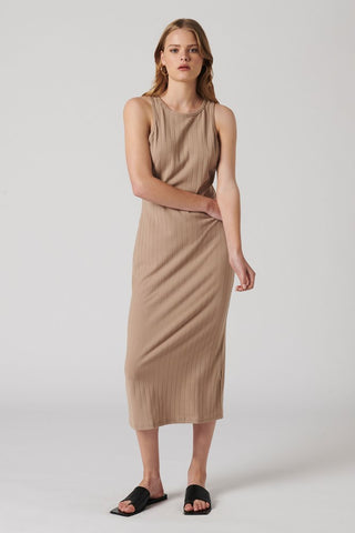 HAZEL RIBBED DRESS
