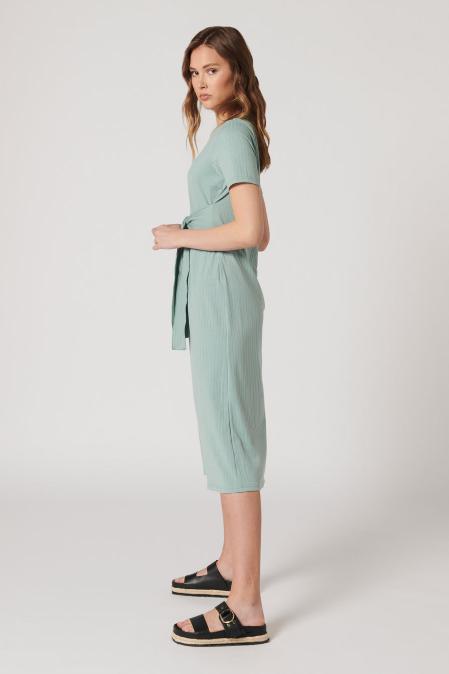 MIRAMAR TIE FRONT DRESS