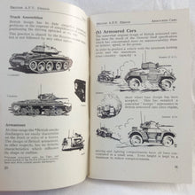 WW2 Tank and AFV Recognition manuals (1942-44)