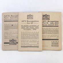 A.F.V. Recognition (1942-1944) | War Office