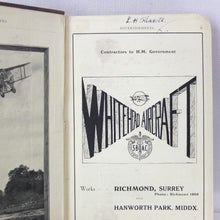Sopwith Camel Pilot's Aviation Pocket Book (1917)