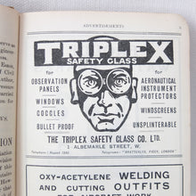 WW1 Sopwith Camel Pilot's Book (1917) | Triplex Advert