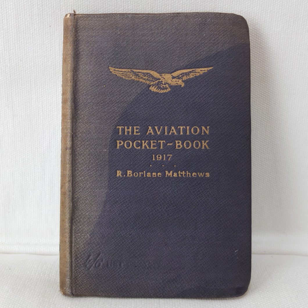 WW1 RNAS Sopwith Camel Pilot's Aviation Pocket Book (1917)