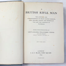 A British Rifle Man | Major George Simmons (1899)
