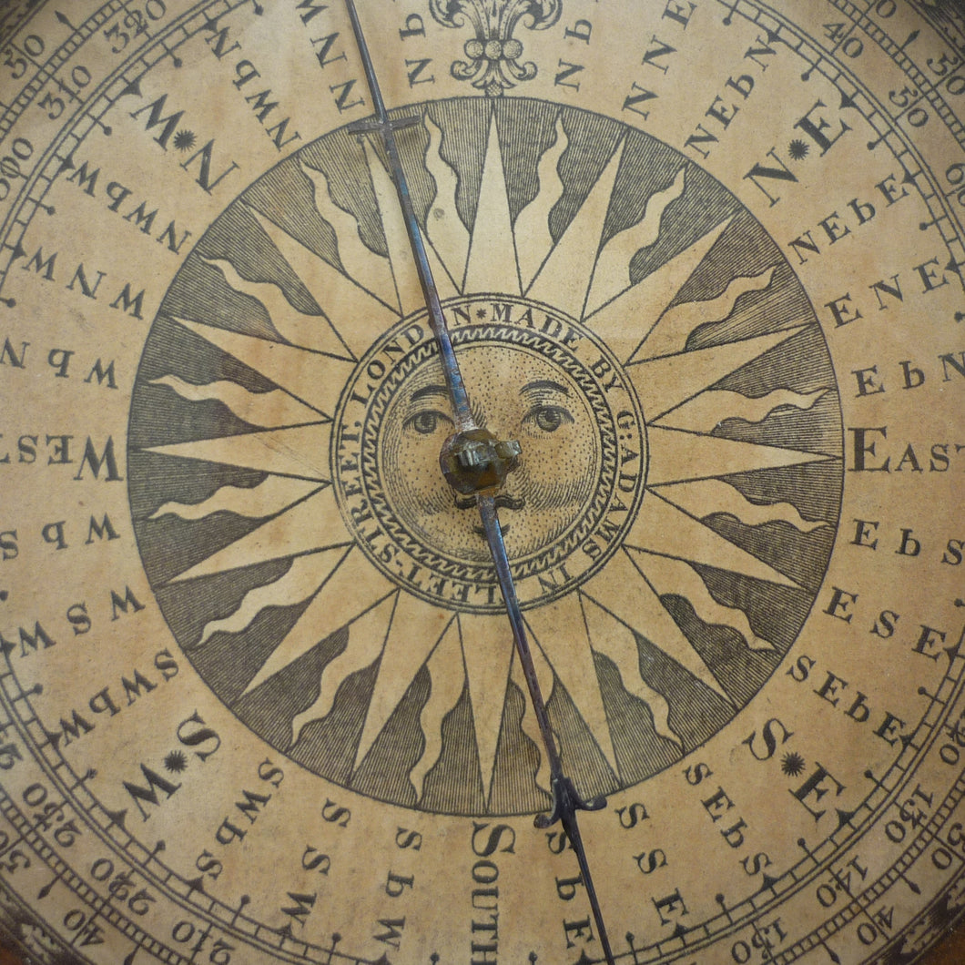 George Adams of Fleet Street, Antique Compass 1740