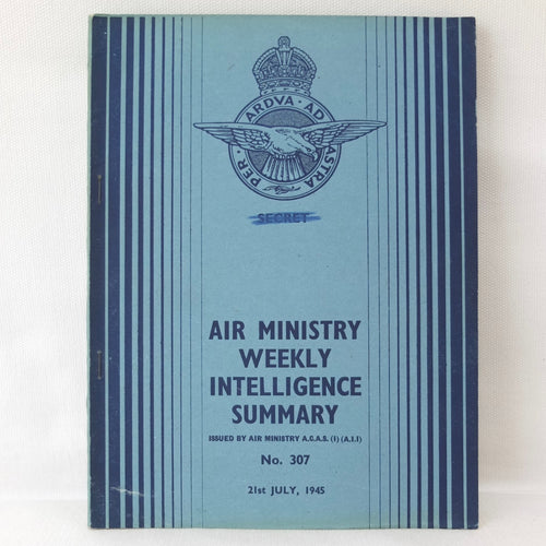Air Ministry Secret Weekly Intelligence July 1945