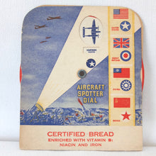 WW2 Aircraft Spotter Dial c.1942