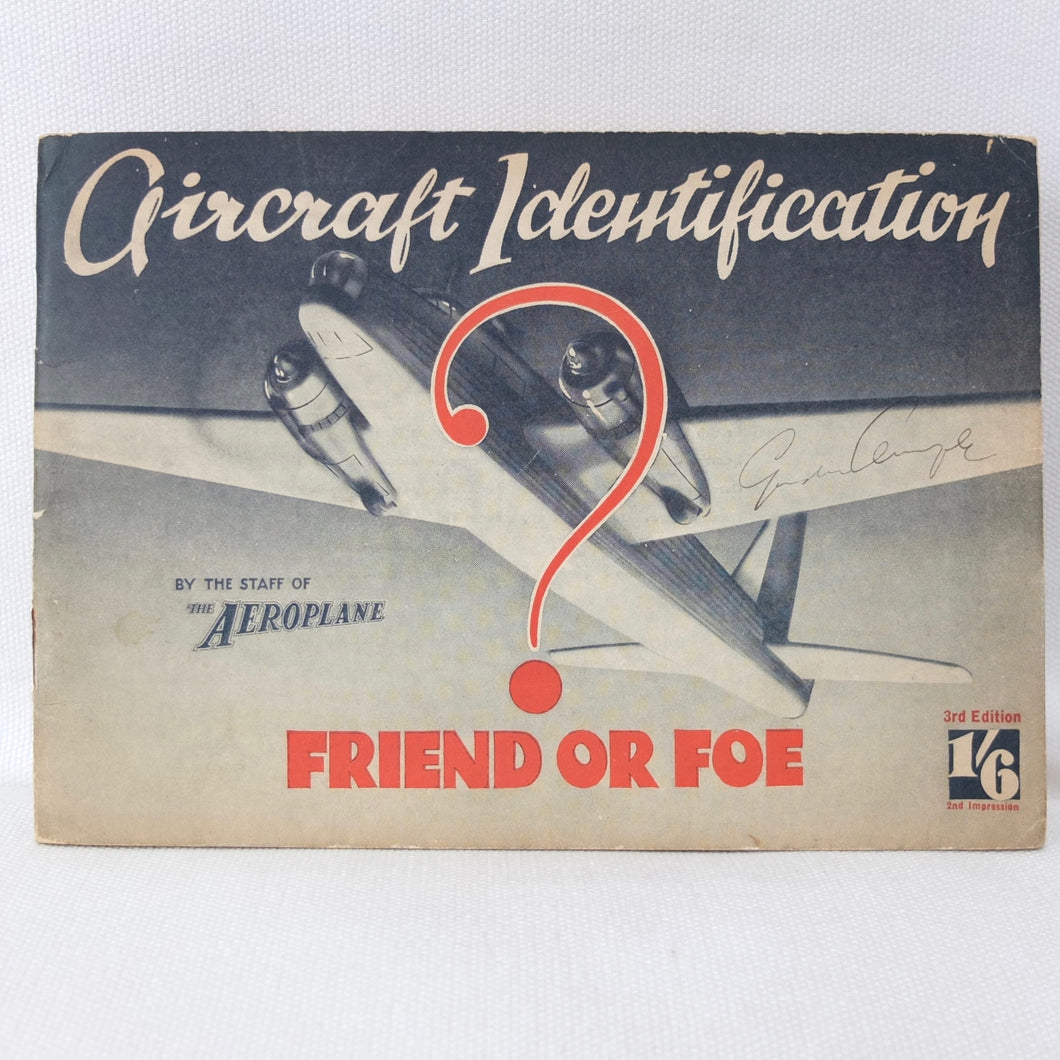 Aircraft Identification - Friend or Foe (1940)