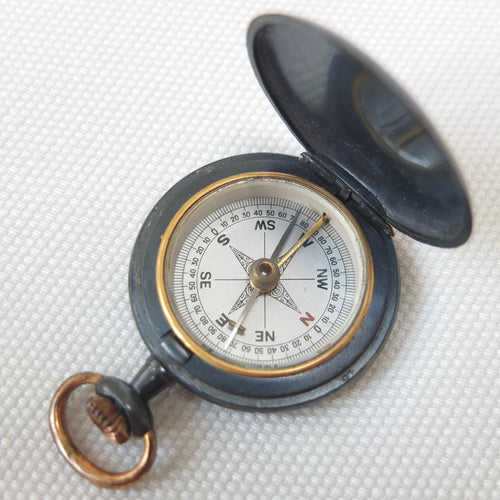 Francis Barker Shallow Hunter Compass c.1900