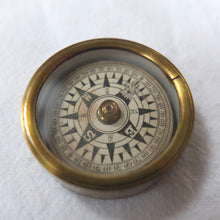 Francis Barker Brass Box pocket compass c.1875 | Compass Library