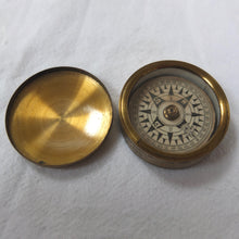 Francis Barker Brass Box Pocket Compass