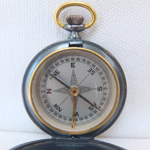 Francis Barker Pocket Compass 1890