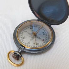 Antique Francis Barker Brass Pocket Compass c.1890
