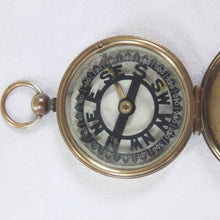 Francis Barker Night Marching Compass c.1880
