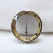 Miniature F. Barker Pebble Lens Compass c.1890 | Compass Library