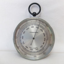 Vintage English Altimeter Barometer | Compass Library