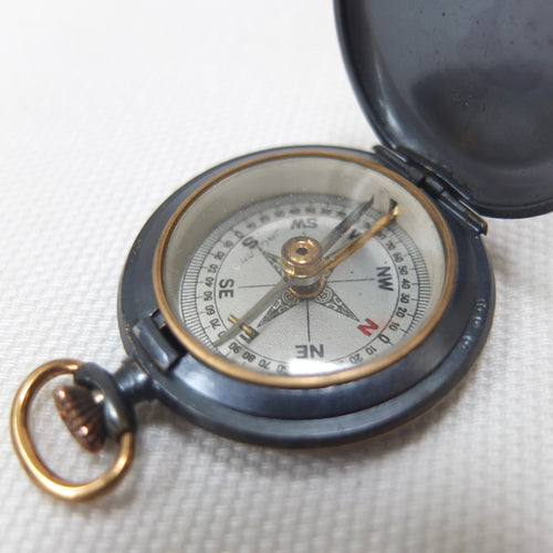 Francis Barker Shallow Hunter Pocket Compass c.1890