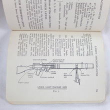 WW2 Small Arms Manual | Lewis Gun | Compass Library