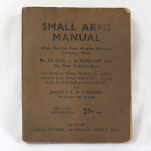 1942 Small Arms Manual | Lt Col. Barlow