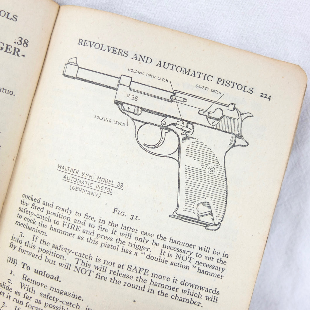 WW2 Small Arms manual | Barlow