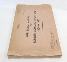 War Room Manual of Bomber Command Operations (1945)