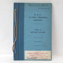 RAF Flying Training Manual (1927) | Compass Library