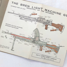 WW2 Bren Light Machine Gun Manual | Gale & Polden c.1942