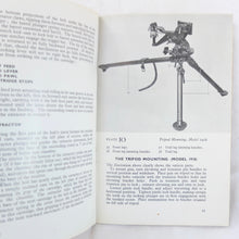 WW2 Browning Machine Gun Manual