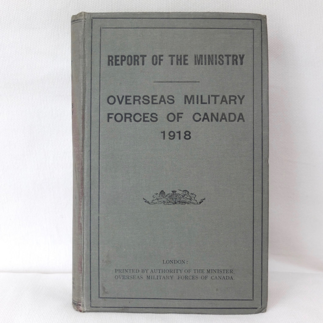 Overseas Military Forces of Canada 1918 | Compass lIbrary