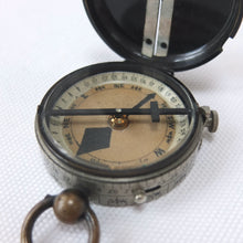 J. H. Steward Verner Patent Marching Compass c.1898