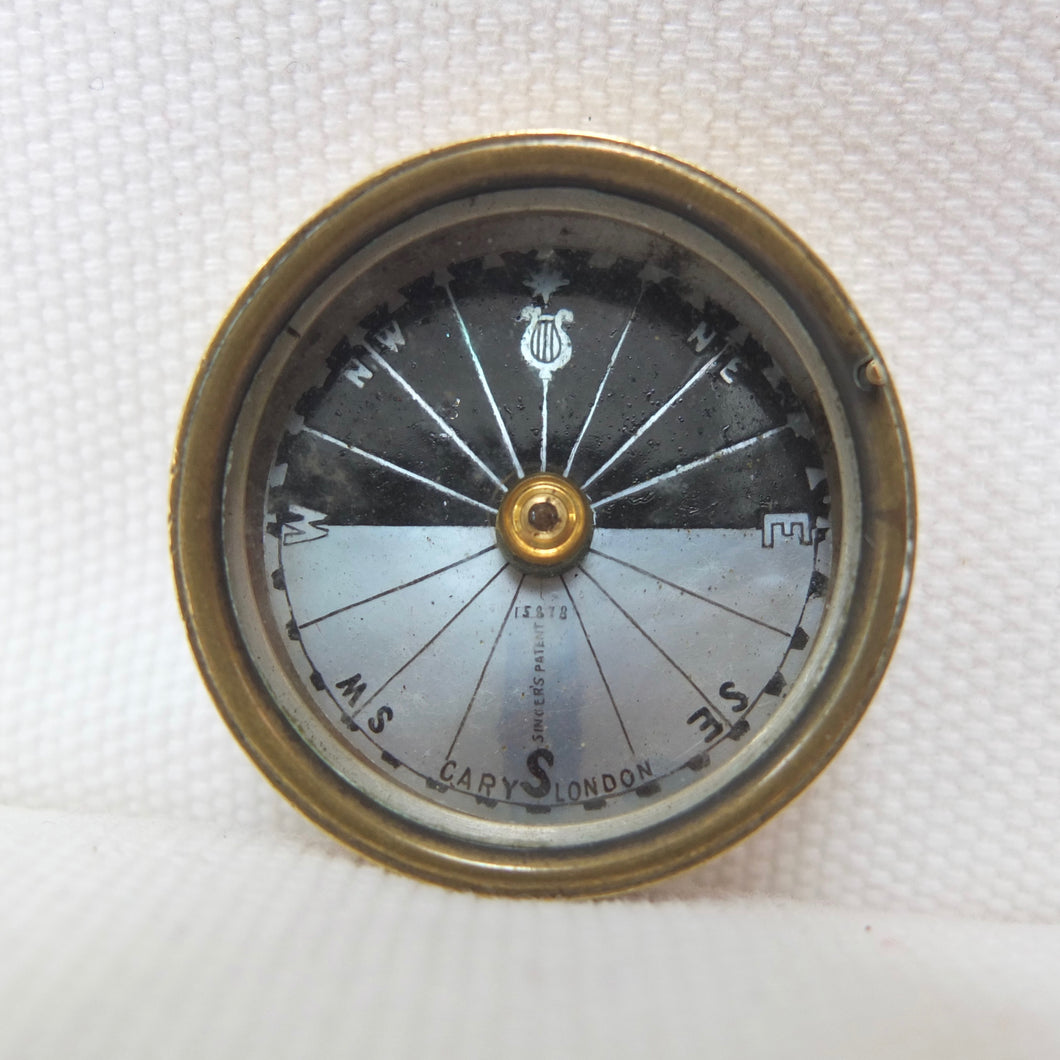 Cary Singer's Patent pocket compass | Compass Library