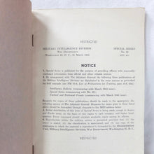 Company Officer's Handbook of the German Army (1944)