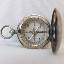 F. Barker hunter cased pocket compass