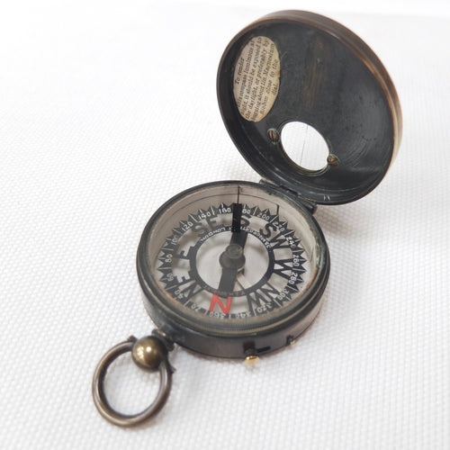 T & H Doublet 'Skeleton Dial' Compass c.1870 | Francis Barker & Son