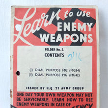 Learn to Use Enemy Weapons No. 2 (1944)
