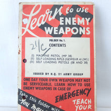 Learn to Use Enemy Weapons (1943)