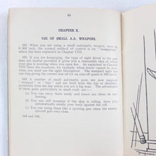 WW2 Naval Anti-Aircraft Gunners Manual (1941)