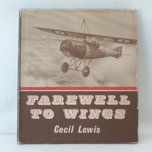 Farewell to Wings | Cecil Lewis