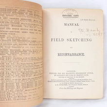 Field Sketching and Reconnaissance (1903)