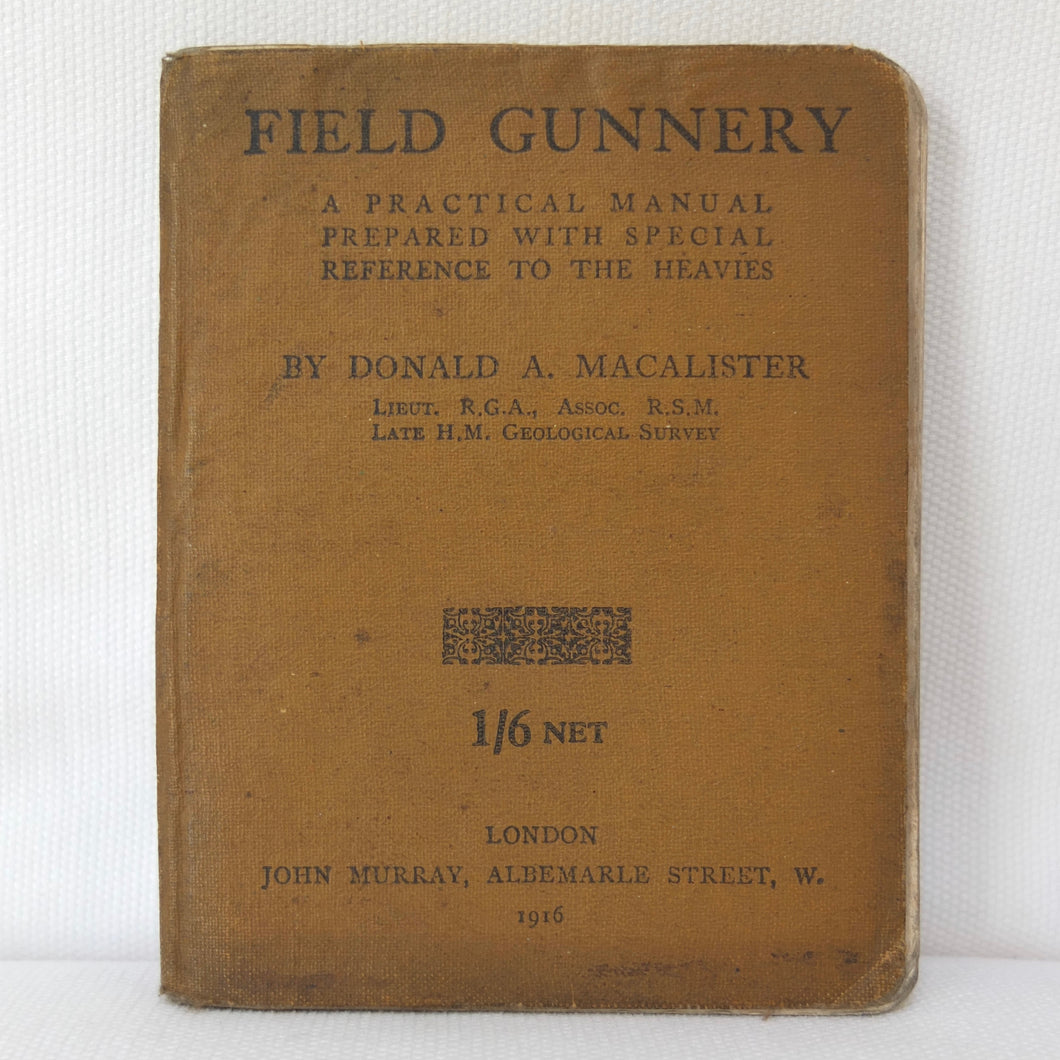 WW1 Field Gunnery Manual (1916) | Compass Library