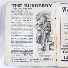 WW1 Field Gunnery Manual (1916) | Burberry Trench Coat
