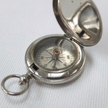 German Pocket Compass 1910 | Lid open