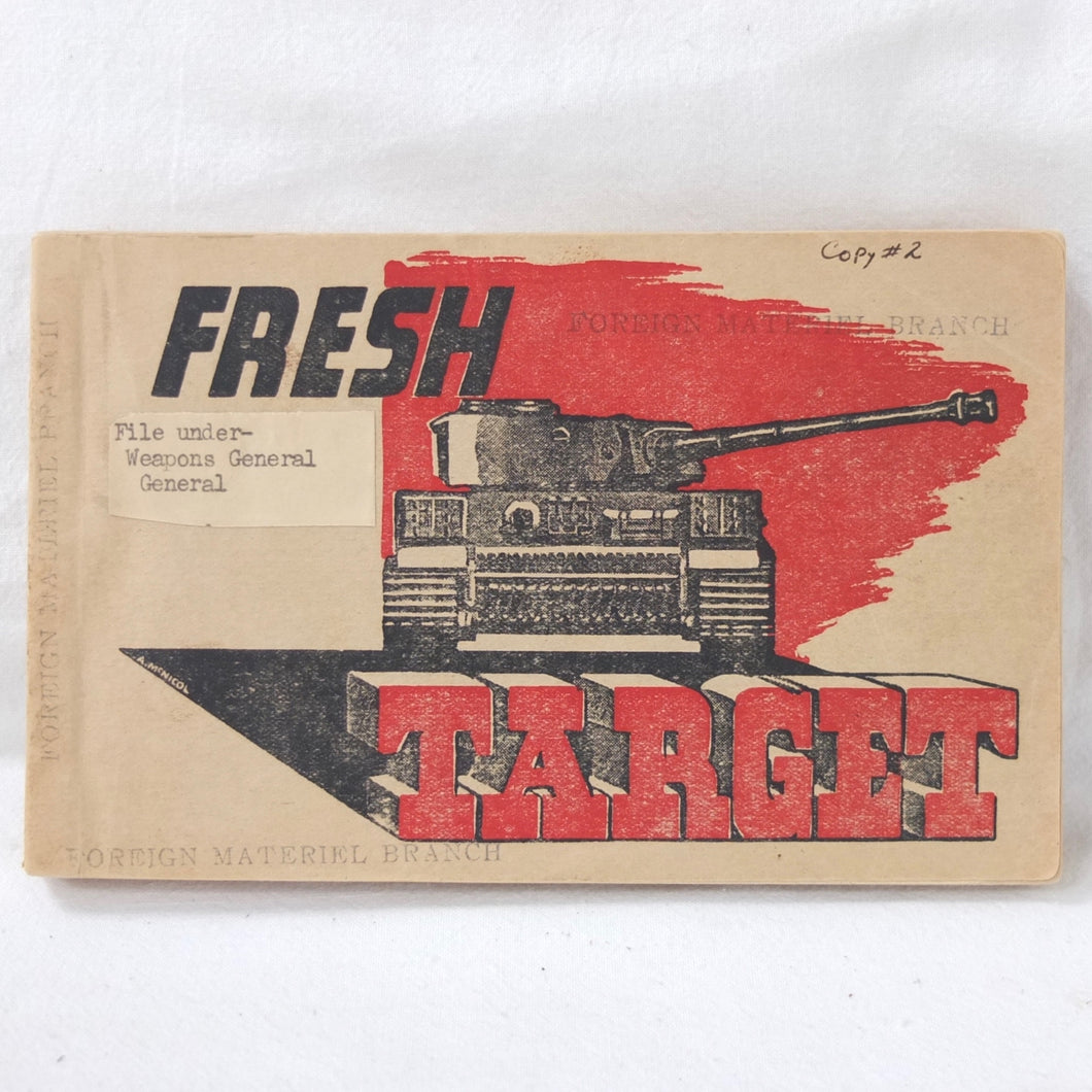 Fresh Target (1943) | Tank Recognition Manual
