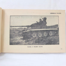 WW2 Tank Recognition Manual (1943) | GHQ, Middle East forces