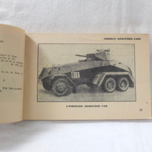 WW2 North Africa Tank Recognition manual (1943)